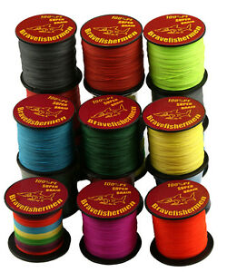 1000M 4 Strands PE Braided Testing Super Strong Testing Spectra Sea Fishing Line