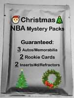 🎅CHRISTMAS🎄 Basketball MYSTERY PACK NBA 3 Hits/2 RCs - Jersey RC Patch Auto
