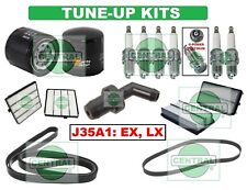 TUNE UP KITS 99-01 HONDA ODYSSEY (V6 -3.5L): SPARK PLUG BELT PCV VALVE & FILTERS