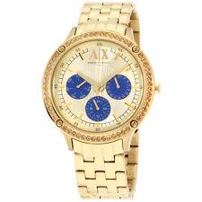 Armani Exchange AX5409 Ladies Capistrano Gold Steel Braceelt Watch
