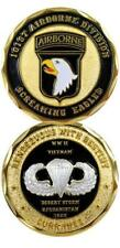Army 101st Airborne Division Screaming Eagles Army Challenge Coin