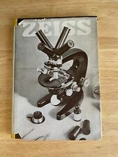 Zeiss Microscope Book 1934 Edition