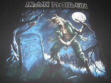 IRON MAIDEN HERE LIES A MAN OF WHOM LITTLE IS KNOWN METAL TEE SHIRT XXL