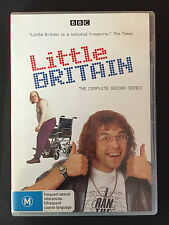 LITTLE BRITAIN The Complete 2nd Series  2DVD Set.. Brand New & Sealed