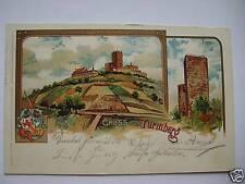 AK Turmberg 1915 Lith.? Karlsruhe C. Münch Künstlerkart
