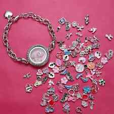 2014 Special Design DIY Bracelet Living Memory Locket Bracelet Floating Charm