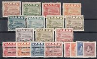 F3221/ BRITISH NAURU – 1924 / 1948 MINT MH SEMI MODERN LOT – CV 135 $