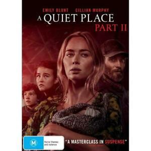 A Quiet Place Part 2 (Dvd,2021) *NEW* Region 4