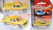 Majorette S.O.S. CARS 212057181 Chevrolet Silverado Rettungsschwimmer LIFEGUARD