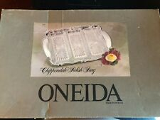 Oneida Chippendale Relish Tray