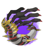 Ultra Pokemon Sun and Moon Giratina Hidden Ability Event 6IV-EV Trained