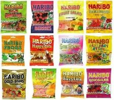 Haribo Gummy Gummies Candy Assorted Variety Pack 12-PK FLAVORS VARY Best By 12/6