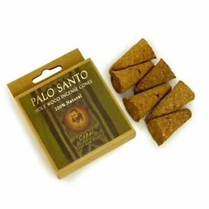 Pure Palo Santo and Copal - Love & Purity - 6 Purifying Handmade Incense Cones