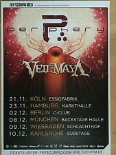 PERIPHERY 2015 TOUR - orig.Concert Poster  --  Konzert Plakat  A1 NEU
