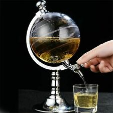 Wine Decanter Liquor & Juice Dispenser Globe Design For Alcohol Drinks New
