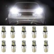 10Pcs 1156 P21W BA15S 2835 15LED Canbus Car Reverse Backup Tail Light Bulb White