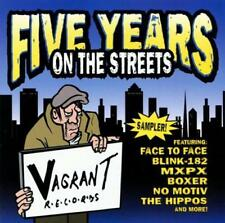 FIVE YEARS ON THE STREETS CD: Blink 182*MxPx*Unwritten Law*Down By Law*No Motiv