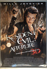 Cinema Poster: RESIDENT EVIL AFTERLIFE 2010 (One Sheet) Milla Jovovich AliLarter