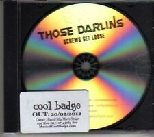 (CL601) Those Darlins, Screws Get Loose - 2012 DJ CD