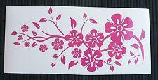 HOT SALE adesivo fiore rosa decal sticker vinile ritagliato sticker flower rose