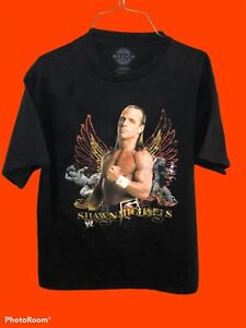 Shawn Michaels Vtg WWE Basics t shirt sz M Rare graphic print