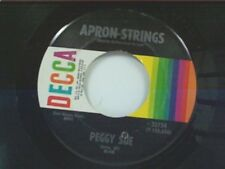 "PEGGY SUE ""APRON STRINGS / YOU'RE LEAVIN ME FOR HER AGAIN"" 45"