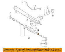 GM OEM Steering Gear-Boot Kit Clamp 11571140