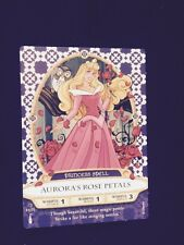 Disney Sorcerers Of The Magic Kingdom Card Aurora's Rose Petals Princess Spell