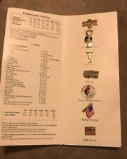 1995 Green Duck Advertising Pin Samples Budweiser Racing