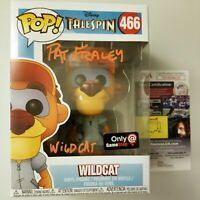 "PAT FRALEY Authentic Hand-Signed ""WILDCAT - TALESPIN"" POP vinyl (JSA COA)"
