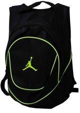 Nike Air Jordan Jumpman Black Green Neon Backpack Book Bag NWT New