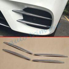 4pcs Chrom Frontfell Gitter Kühlergrill Abdeckung Rand für Benz E-Klasse W213