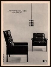 1965 A AD FRENCH  LA BOUTIQUE DANOISE FURNITURE IPSO STUDIO PHOTO DESIGN DANISH