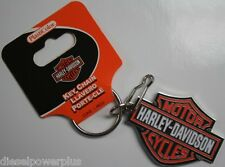 Harley Davidson keychain holder badge clip key ring Motorcycle bike HD MOTOR tag