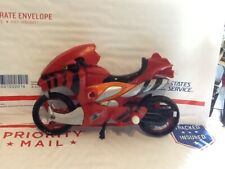 Power Rangers Jungle Fury Tiger Battle Bike figure 2007 MotorCycle red
