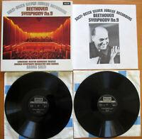 6BB 121/2 Beethoven Symphony no. 9 Choral Solti 2xLP Decca EXCELLENT + booklet