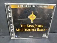 The King James Multimedia Bible Windows Version CD ROM B305