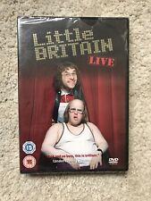 Little Britain - Live (DVD, 2006) New & Sealed M Lucas & D Walliams **FREE POST*