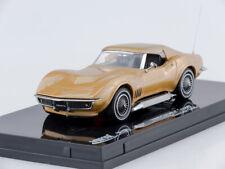 Scale model car 1:43 1969 Corvette Coupe (Riverside Gold)
