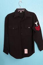 US Navy Uniform Jacket 15 x 31 Button Up Sailor Coat Long Sleeve Shirt Halloween