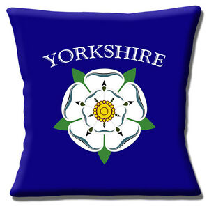 """Yorkshire Rose Logo 16""""x16"""" 40cm Cushion Cover English County of Yorkshire"""