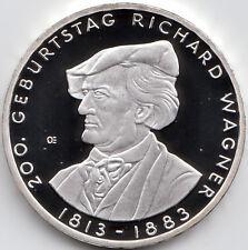 10 Euro Gedenkmünze 200 Jahre Richard Wagner 2013 Polierte Platte Silber 625/-