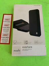 Moshi Overture Vegan Leather Protective Wallet Case for iPhone XS MAX -  Black