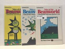 PRIMO:  TALES of the BEANWORLD #2 3 4 VF-NM lot Eclipse comics h5