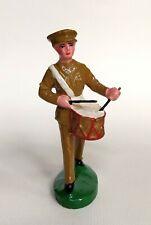 NB fanfare militaire figurine en composition, Durso chialu lineol elastolin