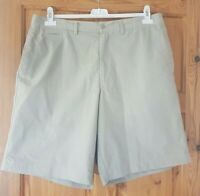 Mens Stone colour Blue Harbour by Marks and Spencer Shorts. Size 36 inches.
