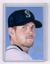 2017 ACEO Sketch Card JAMES PAXTON Seattle Mariners 1/1