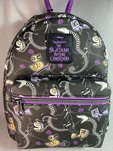 Loungefly Disney Nightmare Before Christmas Halloween Toys Mini Backpack NWT!