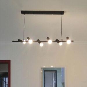 Black Pendant Light Bedroom Lamp Large Chandelier Lighting Kitchen Ceiling Light