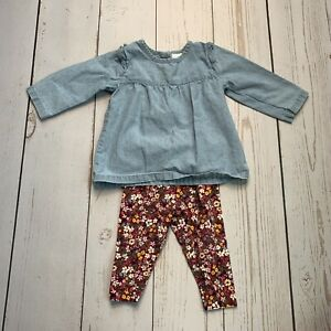 Carter's 6 Month Infant Girl's Fall Matching Oufit Set